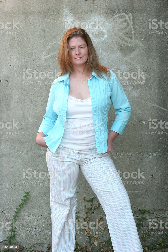casual donna foto stock royalty-free