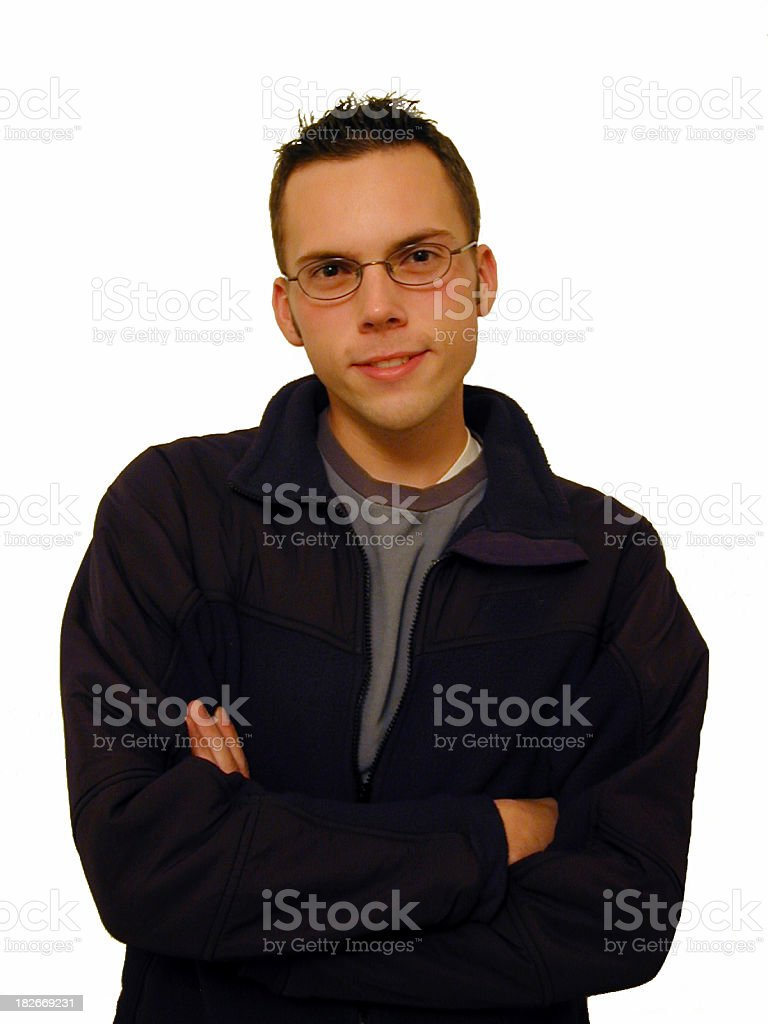 Casual Young Adult royalty-free stock photo