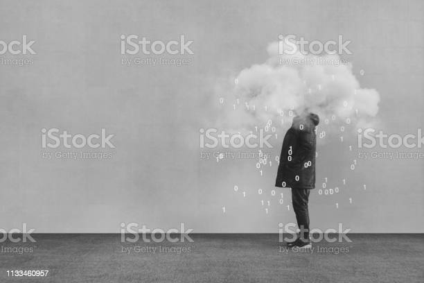 Photo of Casual young man VR cloud computing