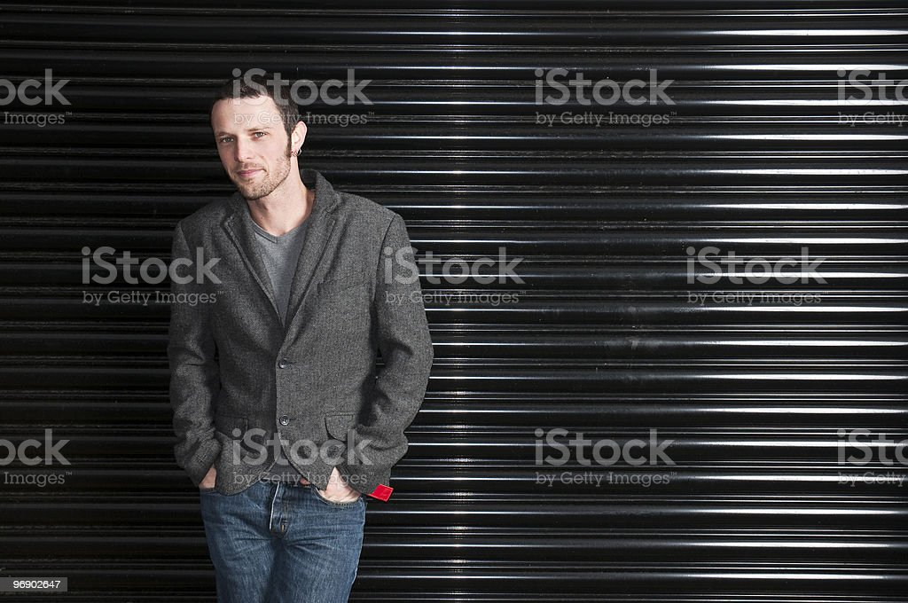 Casual Young Model royalty-free stock photo