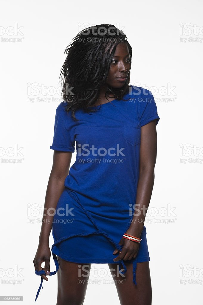 Casual Young Woman royalty-free stock photo