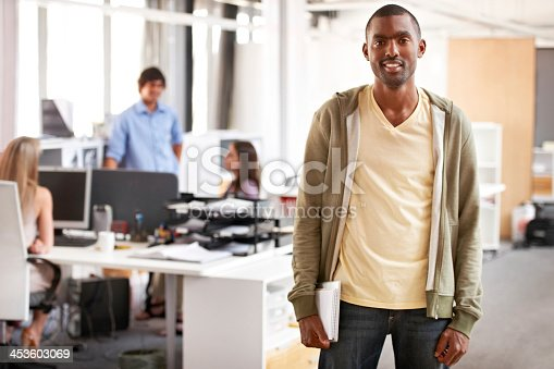 istock Casually climbing the corporate ladder 453603069