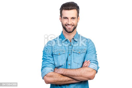 istock Casually handsome. 541564088