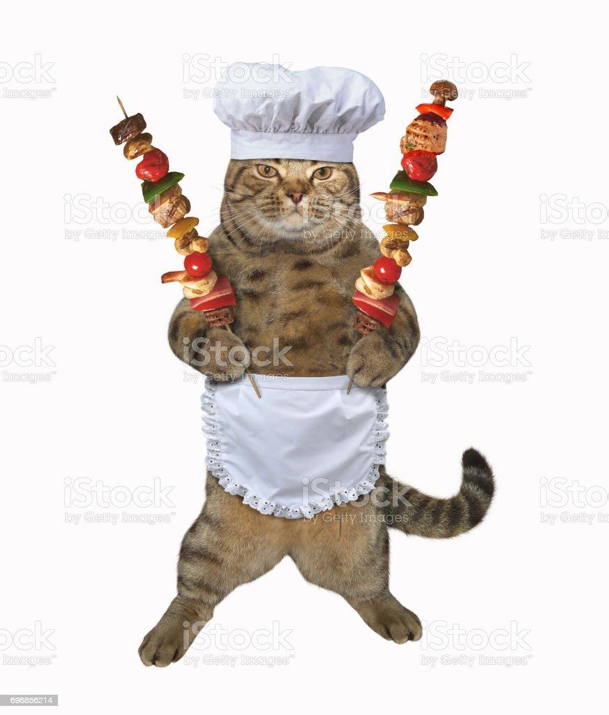 Chat cuisinier 3 - Photo