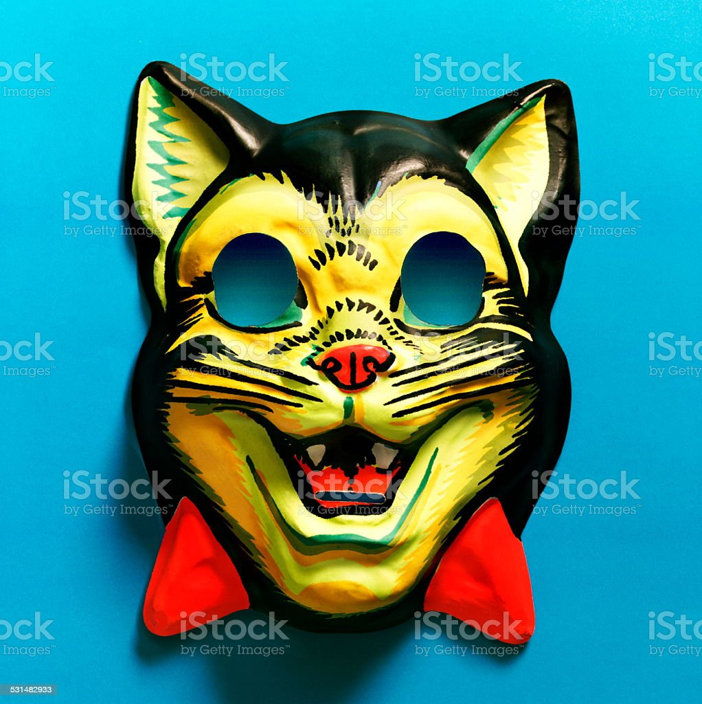 Cat Mask stock photo