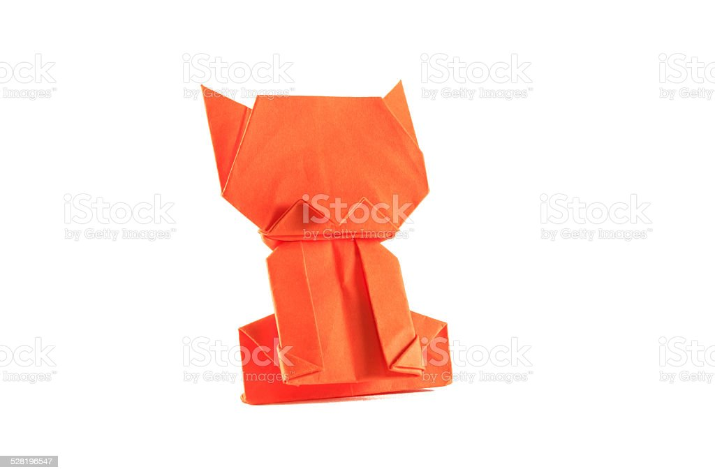 Cat Paper stock photo