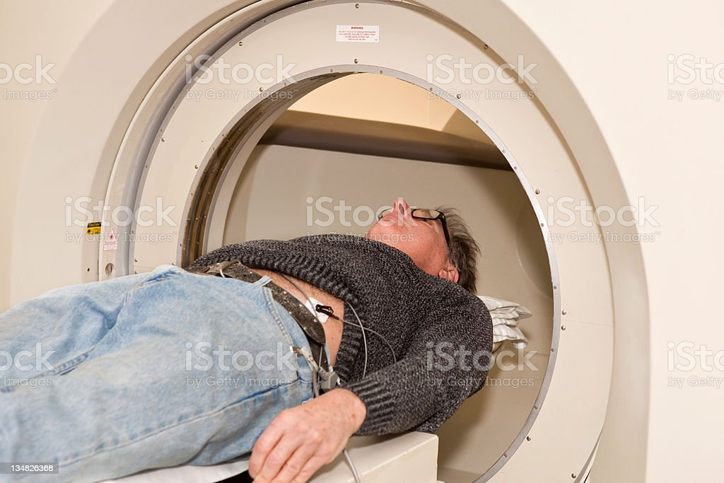 Cat Scan, CT Tomography machine royalty-free stock photo