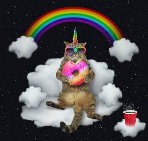 Cat unicorn with the color donut on a cloud 2 picture id1129075665?b=1&k=6&m=1129075665&s=612x612&w=0&h=zz8iuhtua3nioljbuylgskmsb8pyx1yg9vlh xsrr1e=