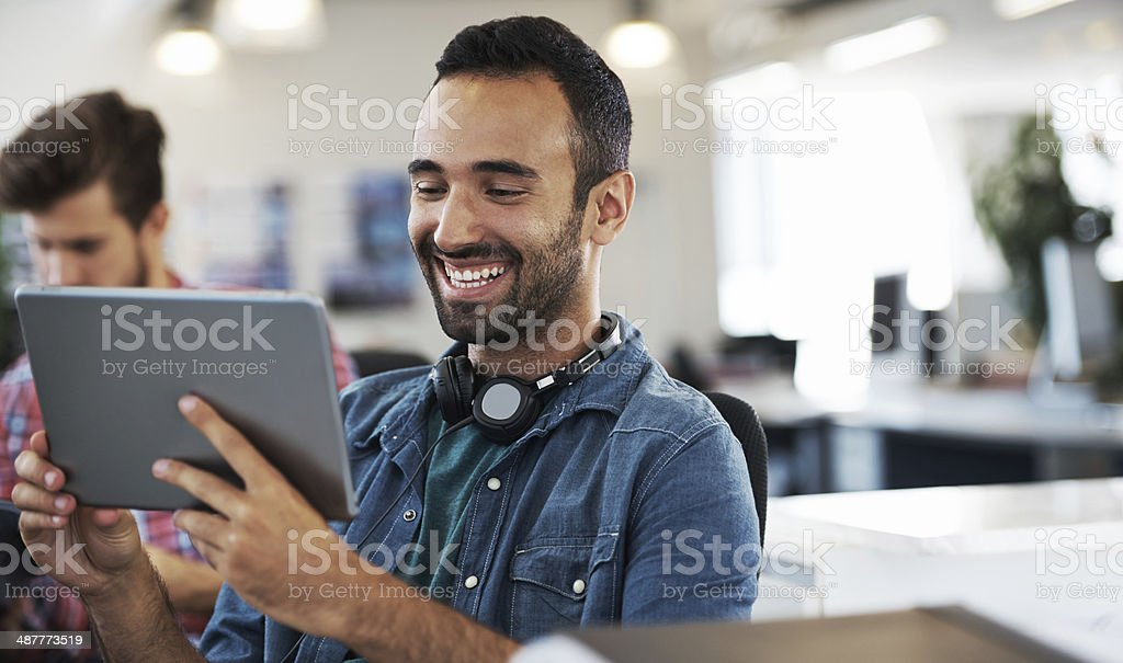 Cat videos are the best royalty-free stock photo