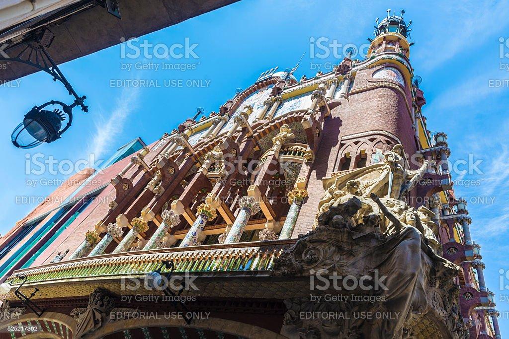 Palacio De La Musica Catalana Barcelona Foto De Stock Y Mas Banco De