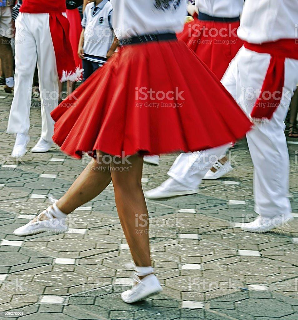 Catalan Spanish Dance stock photo
