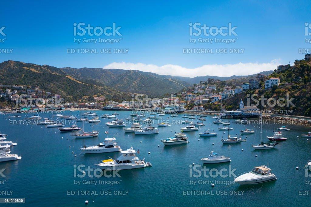 Catalina Island California royalty-free stock photo