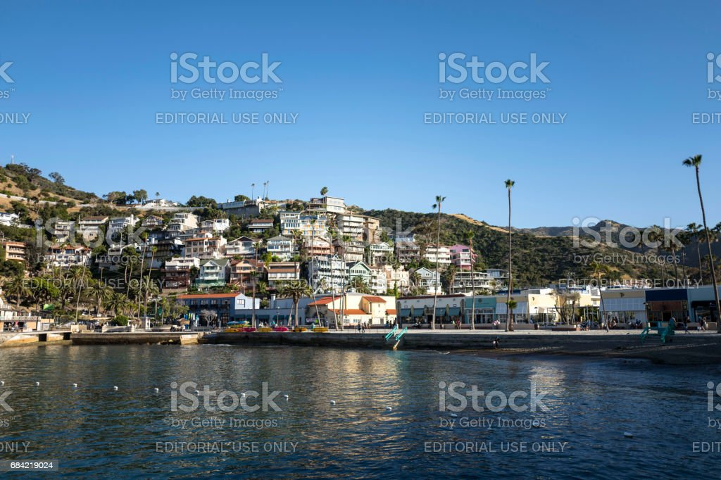 Catalina Island en Californie photo libre de droits