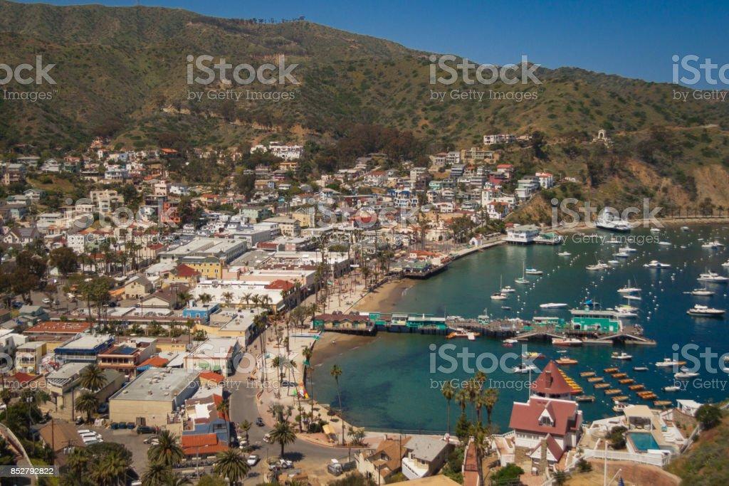 Catalina Island, California stock photo