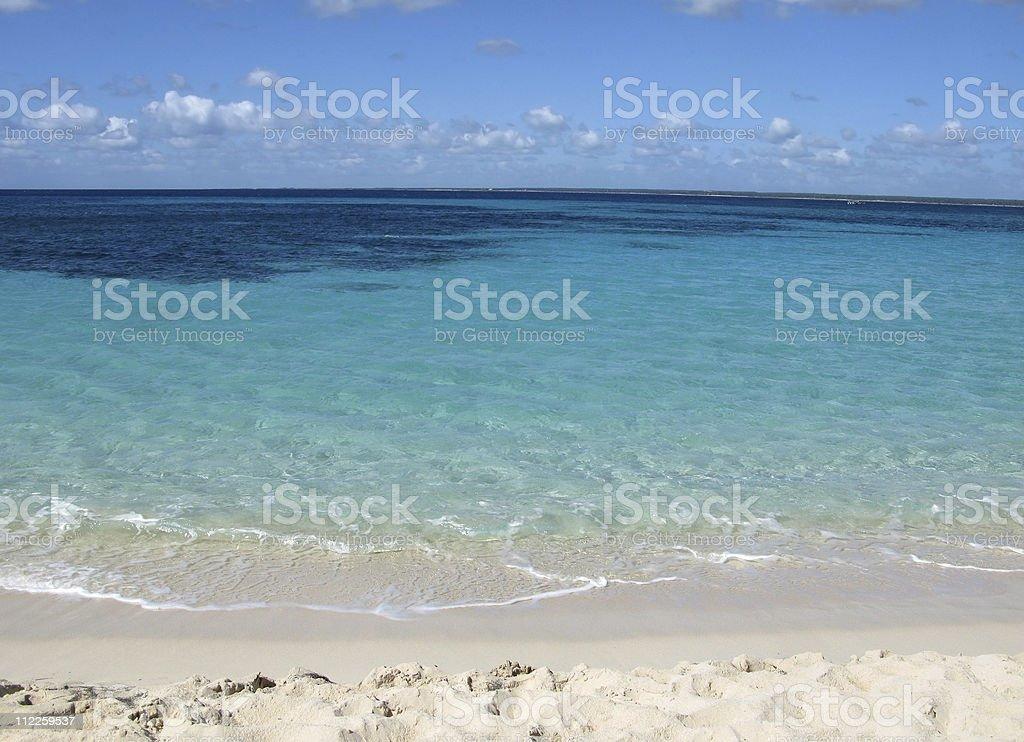 Catalina island, Dominican Republic stock photo