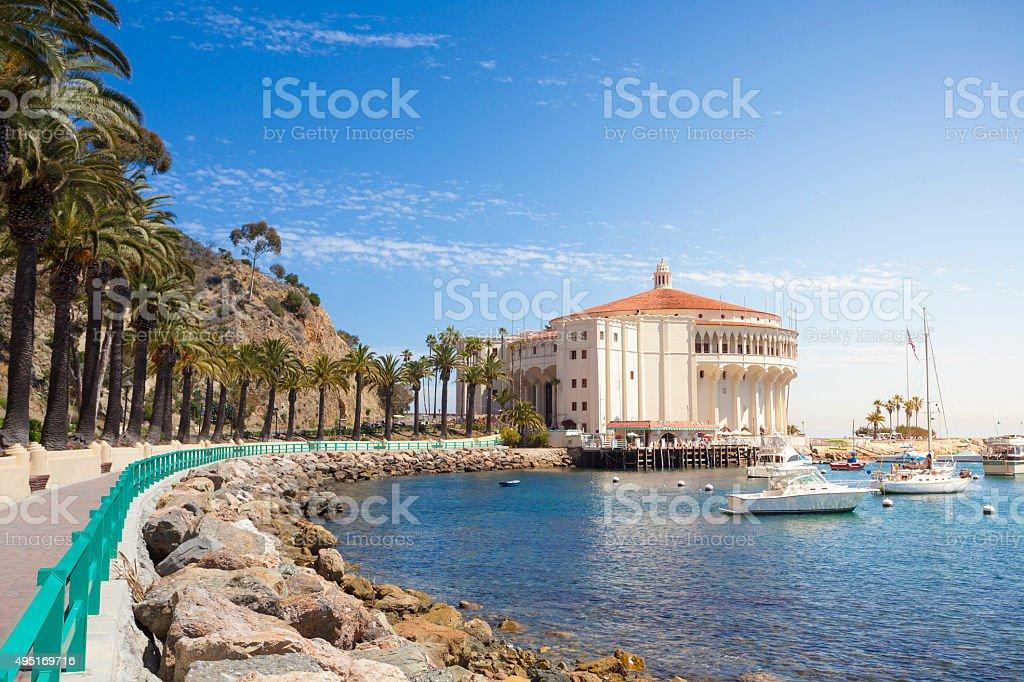Catalina Island stock photo