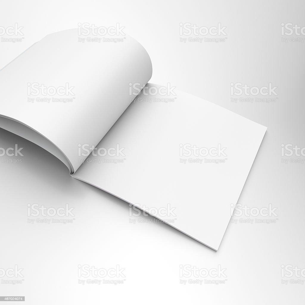 catalog or magazine stock photo