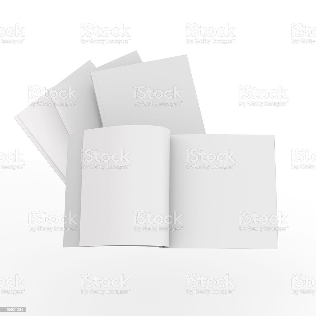 catalogs or magazines stock photo