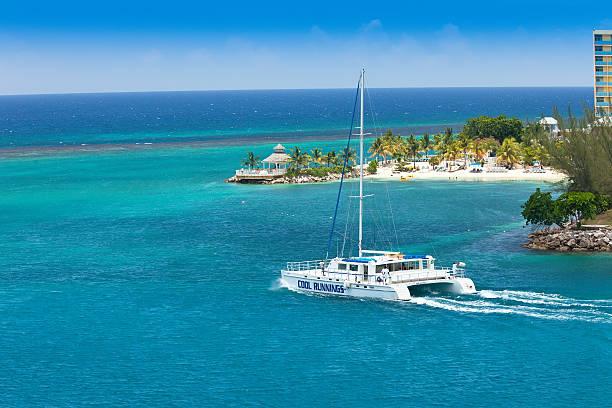 Catamaran in Ocho Rios, Jamaica
