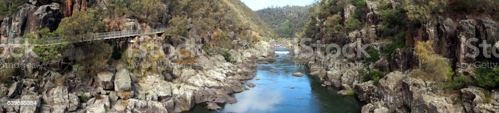 Cataract Gorge Reserve, Launceston stock photo