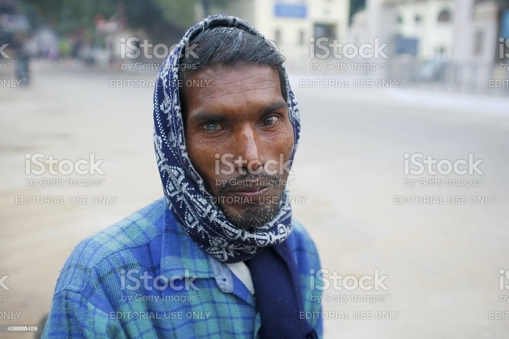 Cataract Indian royalty-free stock photo