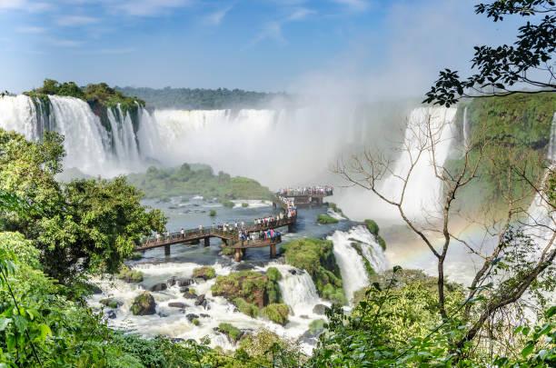 Cataratas do Iguaçu-5 stock photo