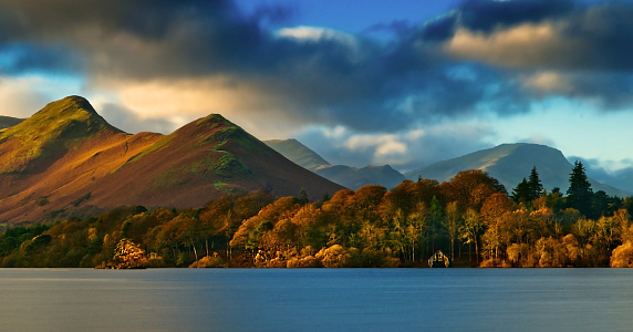 Catbells Over Derwentwater Stock Photo - Download Image Now
