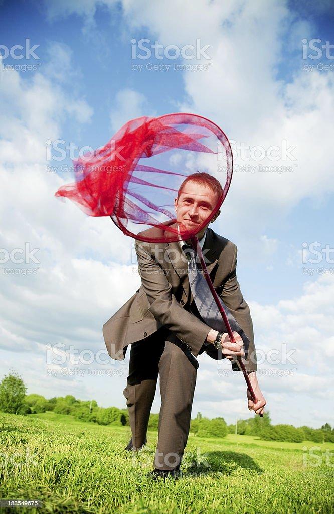 Catch it! royalty-free stock photo