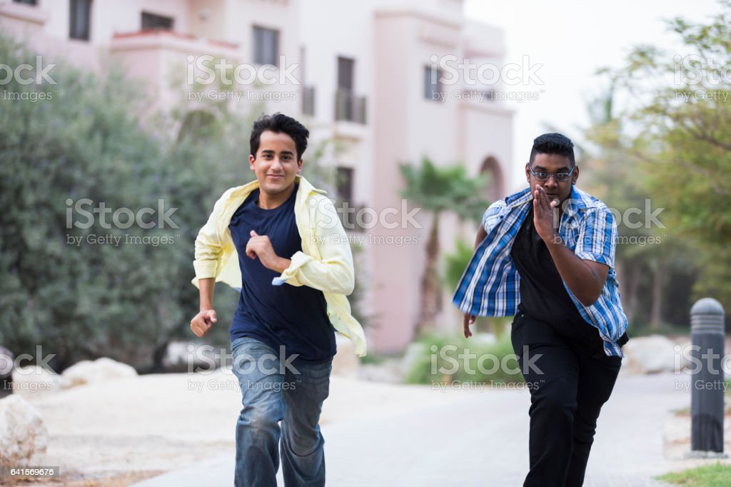 Catch me if you can stock photo