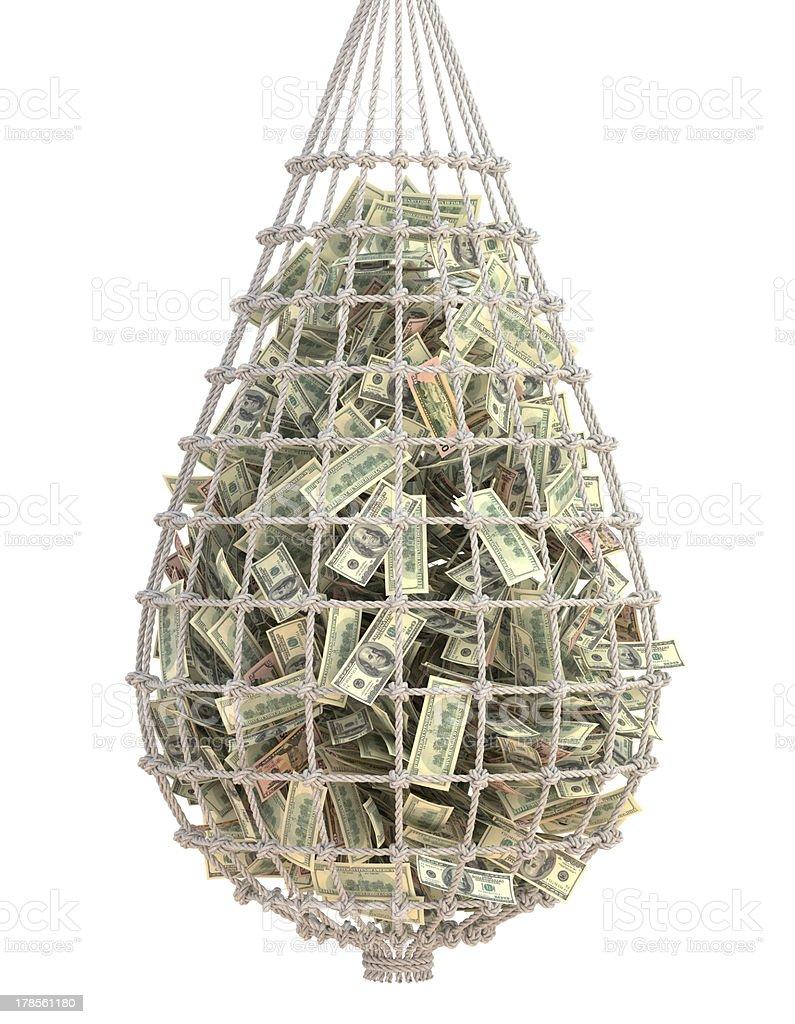 Catch Money stock photo