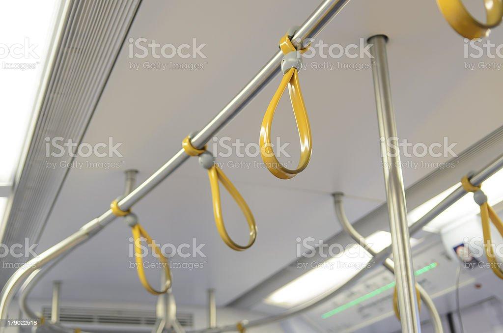catch the roll on sky train carefully royalty-free stock photo