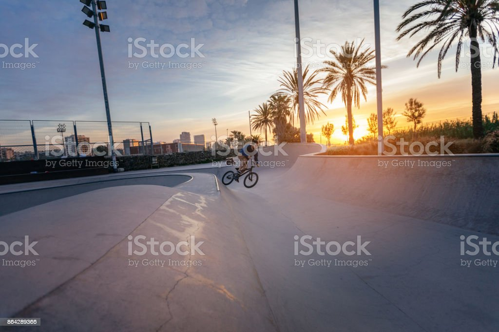 Catching some big air royalty-free stock photo