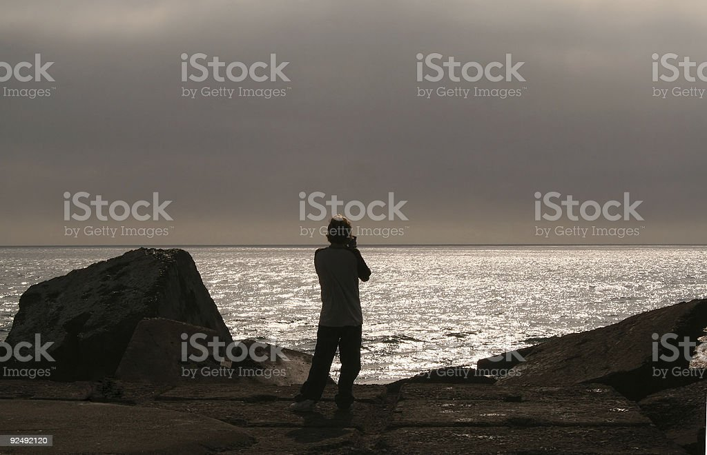 Catching the Dawn royalty-free stock photo
