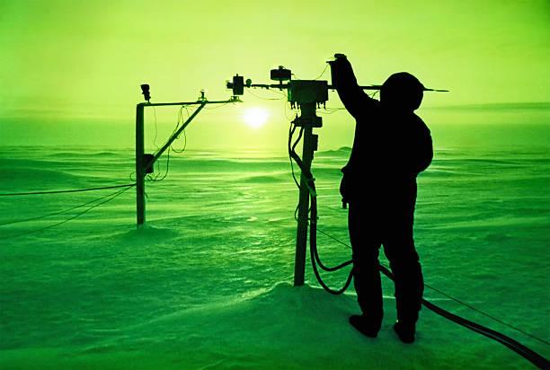 Fangen die Sonne am Nordpol – Foto