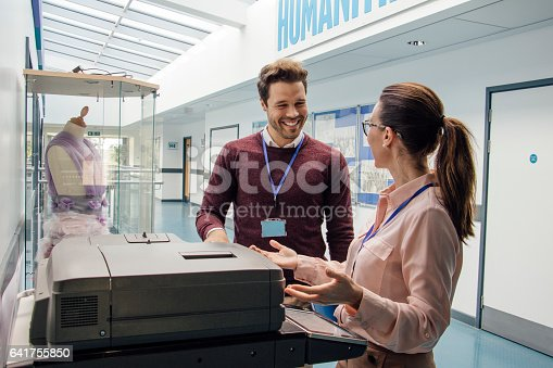istock Catching Up At The Printer 641755850