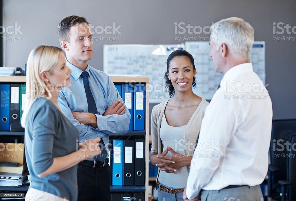 Catching up - Royalty-free 2015 Stock Photo
