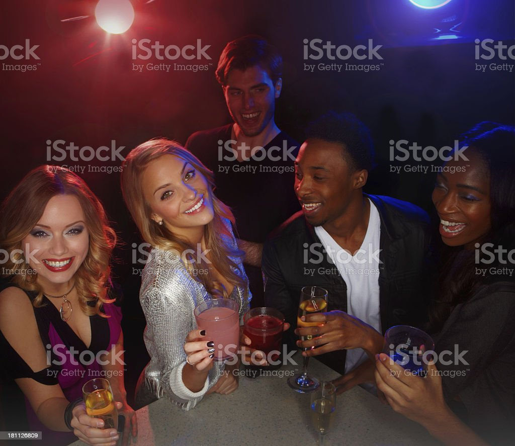 Catching up with some friends royalty-free stock photo