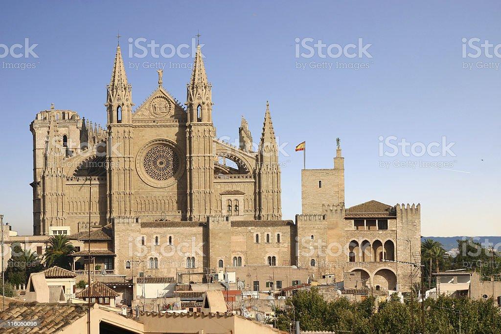 catedral  Palma de Mallorca stock photo