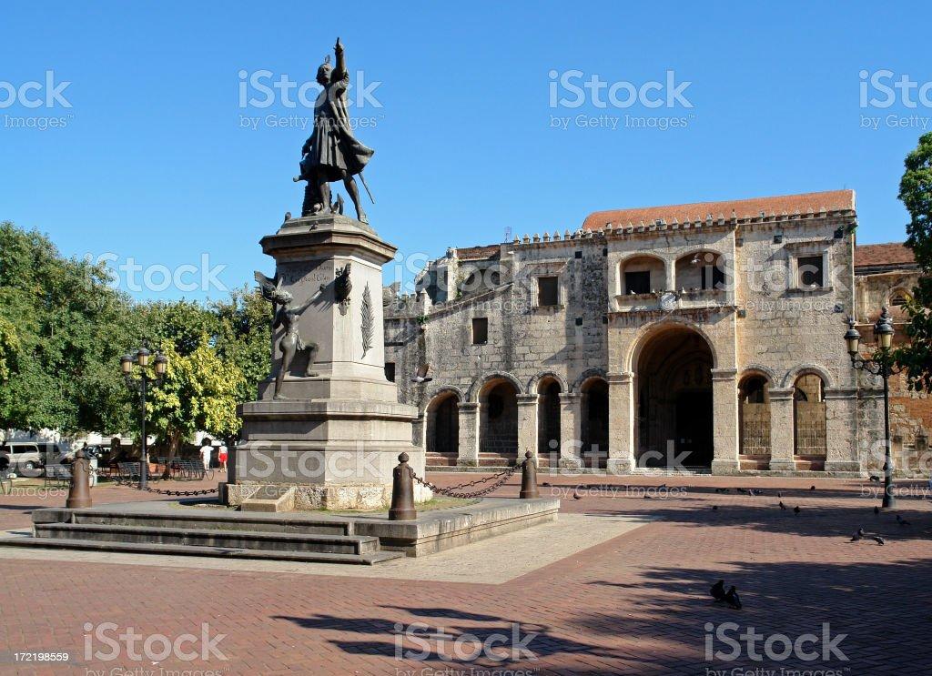 Catedral Primada in Santo Domingo stock photo
