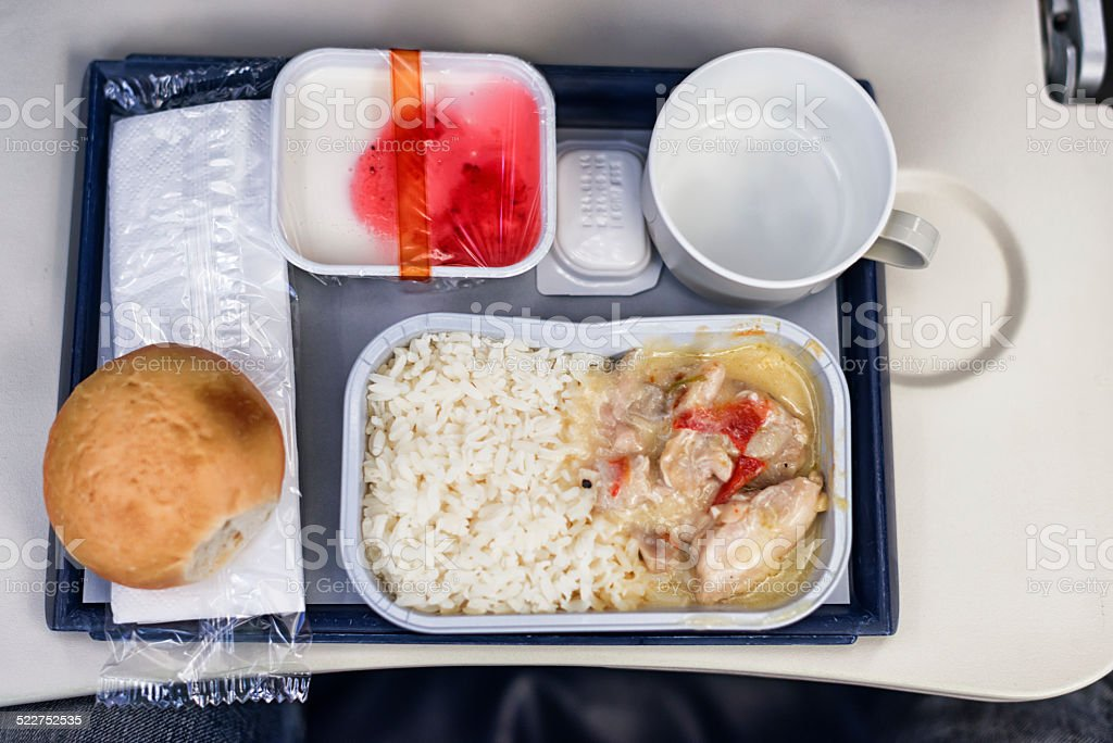 catering food on board stock photo