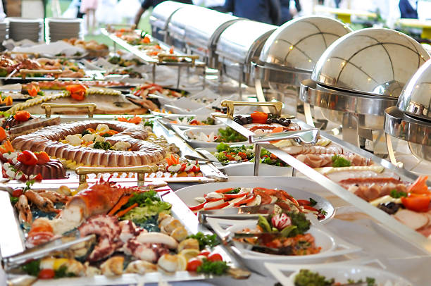 Catering food Catering food buffet stock pictures, royalty-free photos & images