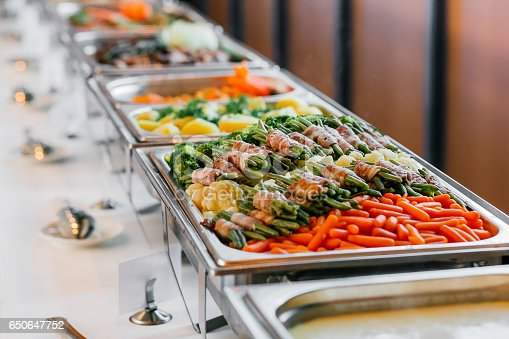 istock Catering Food Wedding Event Table 650647752