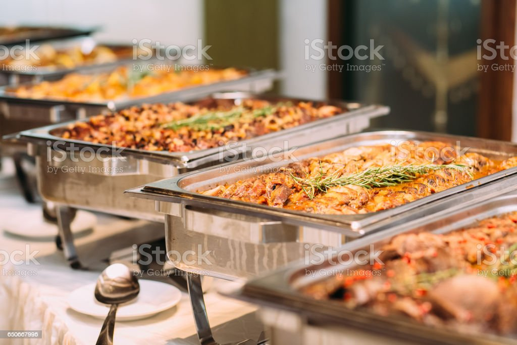 Catering Food Wedding Event Table – Foto
