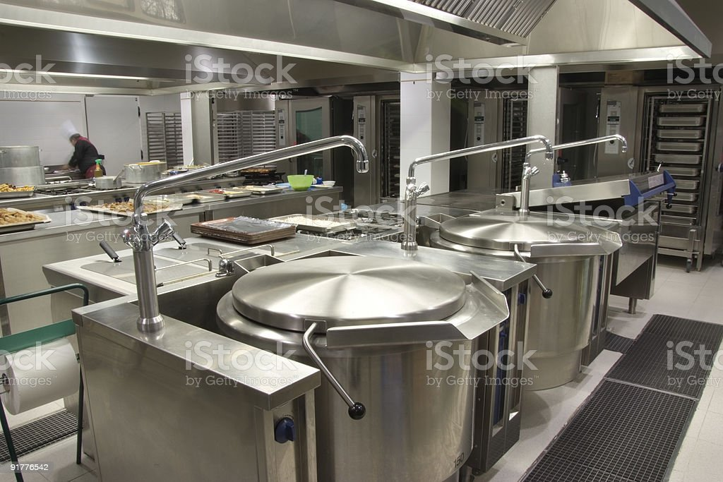 Catering Kitchen royalty-free stock photo