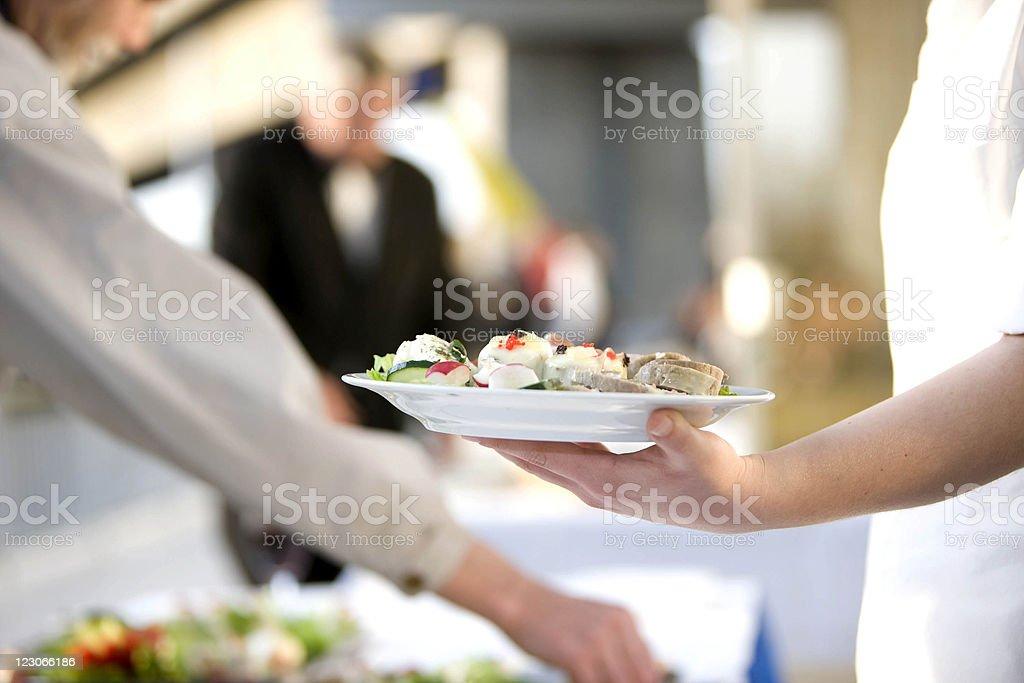 Catering. - Lizenzfrei Anzahl von Menschen Stock-Foto