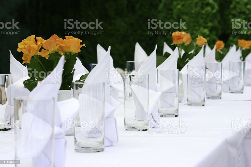 Catering service royalty-free stock photo