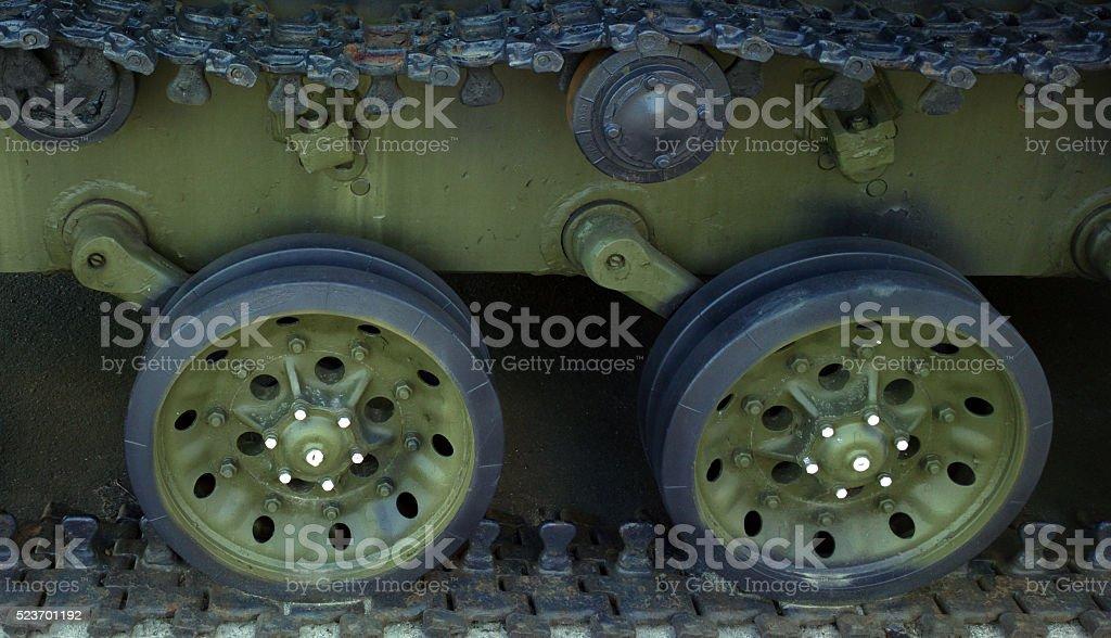 Caterpillar armored vehicles. stock photo