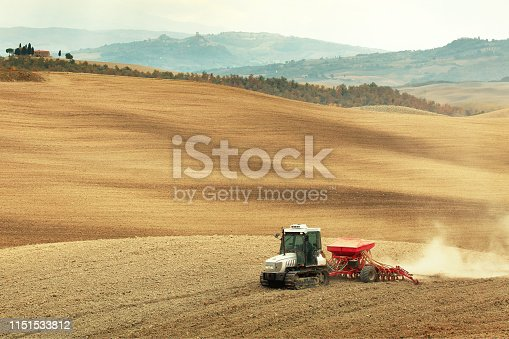 Agriculture in Tuscany, Italy
