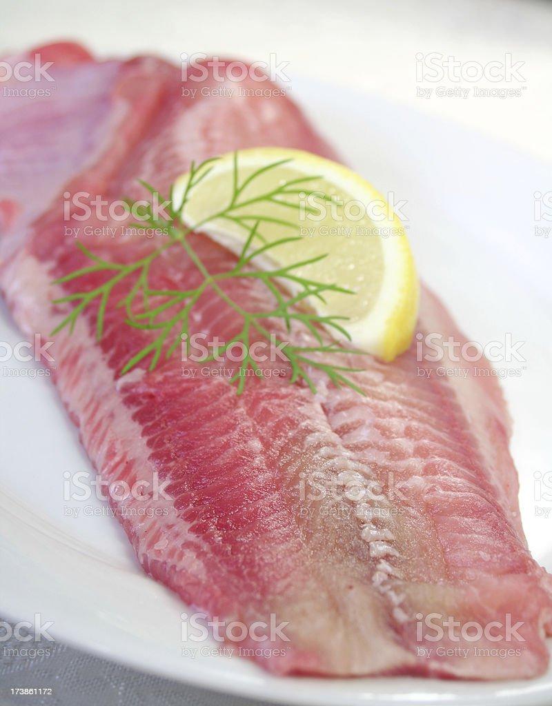 Catfish Filet royalty-free stock photo