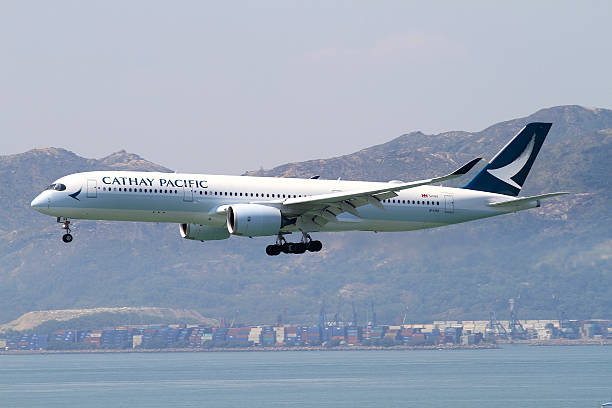 Cathay Pacific Airbus A350-900 - foto stock